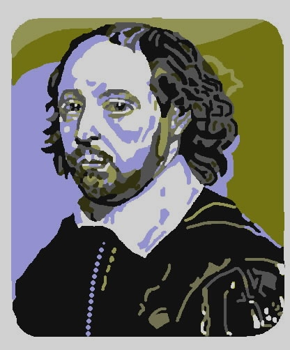 William Shakespeare par volkov